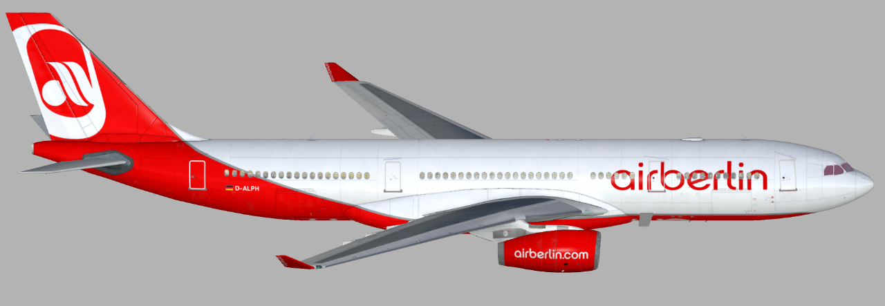airberlin (D-ALPH) updated (Page 1) — Liveries — JARDesign