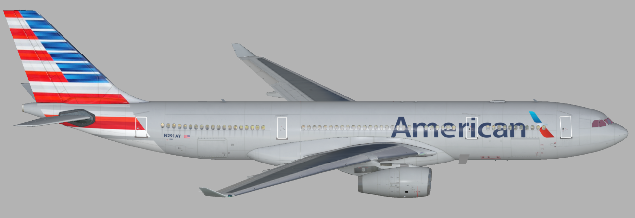 American Airlines (N291AY) updated (Page 1) — Liveries