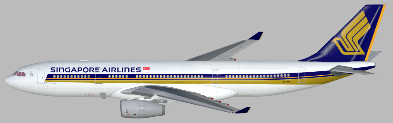 Singapore Airlines (9V-SSI) (Page 1) — Liveries — JARDesign