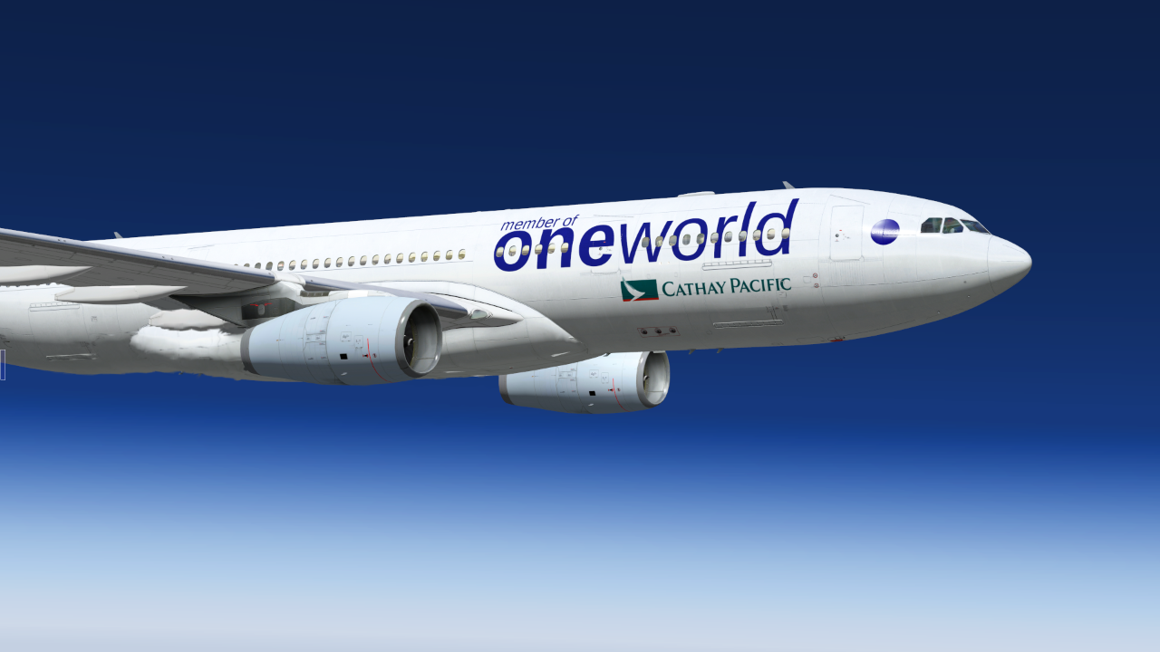 Cathay Pacific oneworld (Page 1) — Liveries — JARDesign