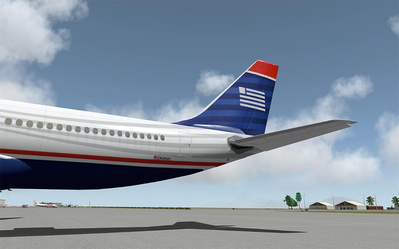 US Airways N280AY (Page 1) — Liveries — JARDesign Group Board