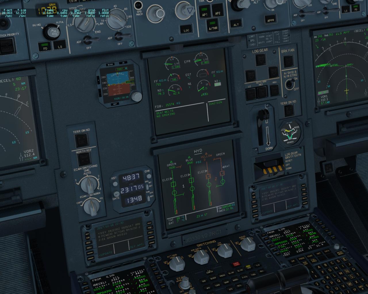 JD330 Airliner ver 2 2 RC1, R2, R3 WIN/MAC 64 bit (X-Plane