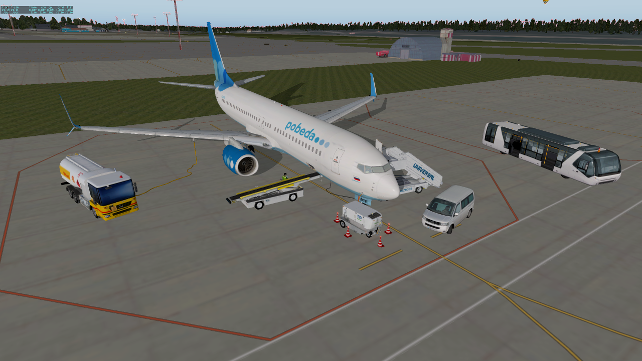 EADT x737 Boeing 737-800 (Page 1) — Users SETs for X-Plane