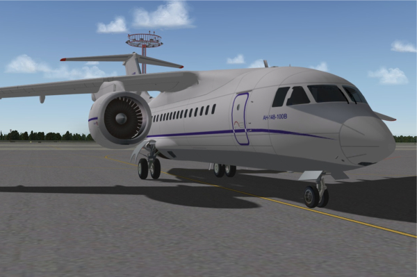 An-148 Airliner for X-Plane 9 (freeware)