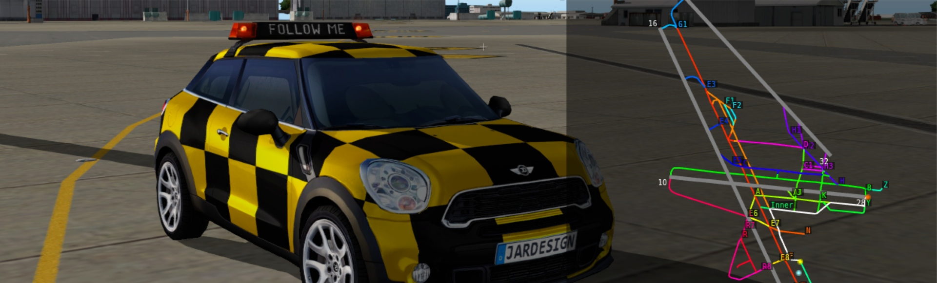 FollowMe Car for X-Plane 10