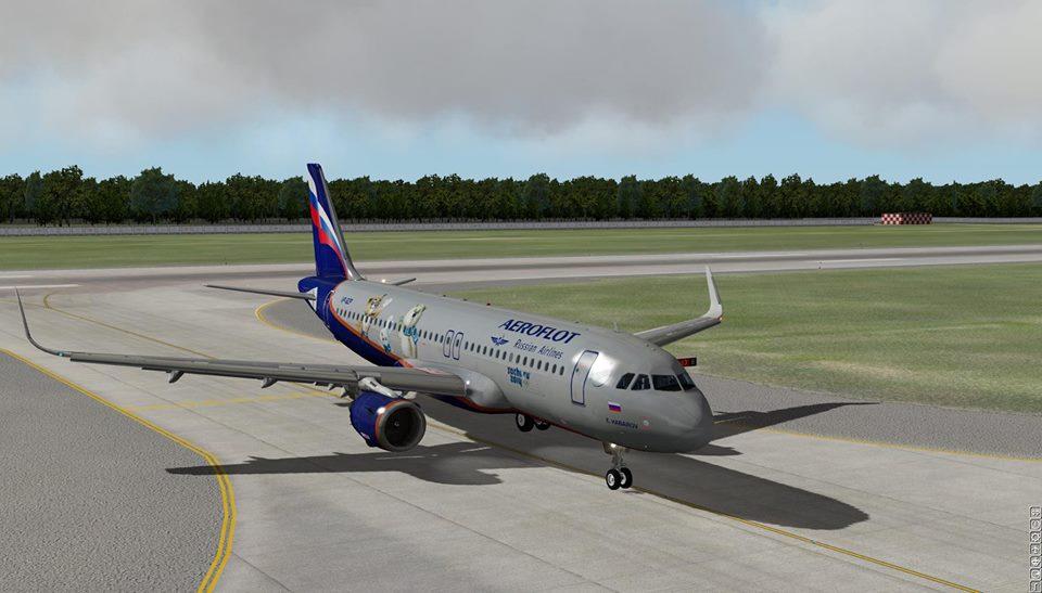 X plane A320 neo